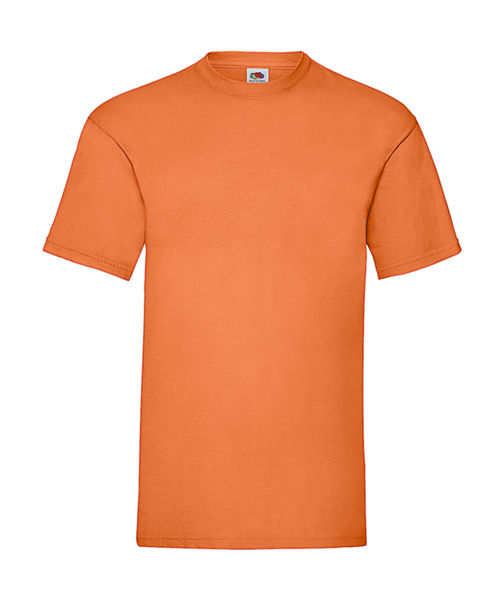 Tee shirt Publicitaire - Value Weight Orange 1