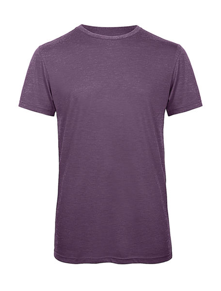 T-shirt triblend col rond homme publicitaire | Triblend men Heather Purple 1