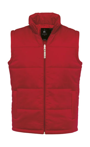 Bodywarmer publicitaire homme sans manches | Bodywarmer men Red