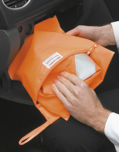 Housse publicitaire | Pocket for Safety Vests Fluorescent Orange 1