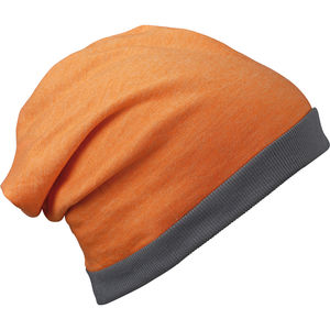 Bonnet Publicitaire - Myrru Orange
