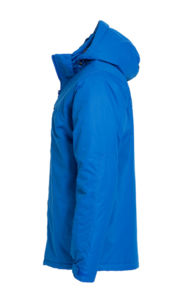 Parka publicitaire à capuche amovible | Kingslake Royal Blue 2