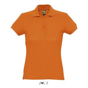 Polo publicitaire femme | Passion Orange