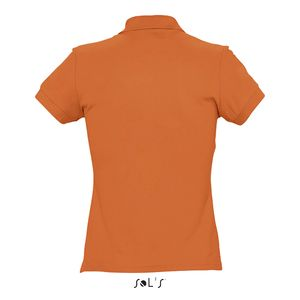 Polo publicitaire femme | Passion Orange 1