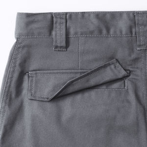 Short publicitaire unisexe | Riverview Convoy Grey 3