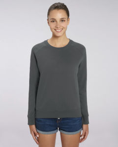 Sweat-shirt col rond iconique femme  | Stella Tripster Anthracite