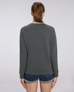 Sweat-shirt col rond iconique femme  | Stella Tripster Anthracite 1