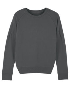 Sweat-shirt col rond iconique femme  | Stella Tripster Anthracite 4