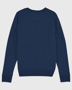 Sweat-shirt col rond iconique femme  | Stella Tripster Black Heather Blue 5