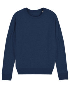Sweat-shirt col rond iconique femme  | Stella Tripster Black Heather Blue 6