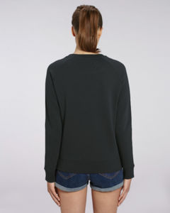 Sweat-shirt col rond iconique femme  | Stella Tripster Black 1
