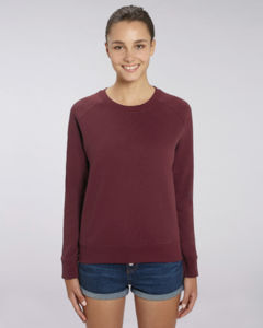 Sweat-shirt col rond iconique femme  | Stella Tripster Burgundy