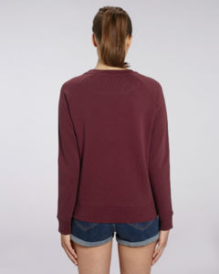 Sweat-shirt col rond iconique femme  | Stella Tripster Burgundy 1