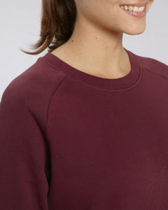 Sweat-shirt col rond iconique femme  | Stella Tripster Burgundy 2