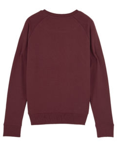 Sweat-shirt col rond iconique femme  | Stella Tripster Burgundy 3