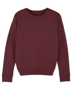 Sweat-shirt col rond iconique femme  | Stella Tripster Burgundy 4