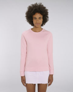 Sweat-shirt col rond iconique femme  | Stella Tripster Cotton Pink