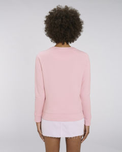 Sweat-shirt col rond iconique femme  | Stella Tripster Cotton Pink 1