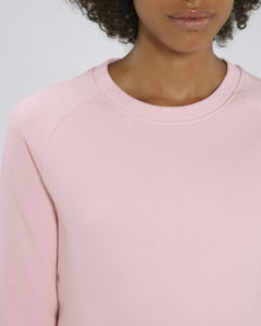 Sweat-shirt col rond iconique femme  | Stella Tripster Cotton Pink 2