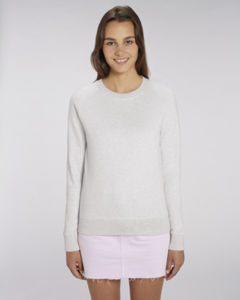 Sweat-shirt col rond iconique femme  | Stella Tripster Cream Heather Grey