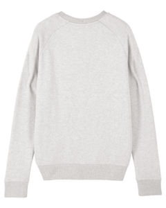 Sweat-shirt col rond iconique femme  | Stella Tripster Cream Heather Grey 3