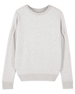 Sweat-shirt col rond iconique femme  | Stella Tripster Cream Heather Grey 4