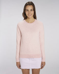Sweat-shirt col rond iconique femme  | Stella Tripster Cream Heather Pink