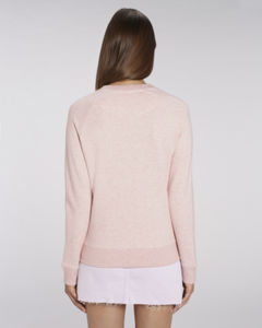 Sweat-shirt col rond iconique femme  | Stella Tripster Cream Heather Pink 1