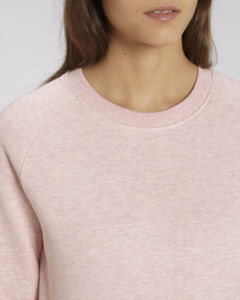 Sweat-shirt col rond iconique femme  | Stella Tripster Cream Heather Pink 2