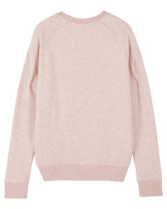 Sweat-shirt col rond iconique femme  | Stella Tripster Cream Heather Pink 3