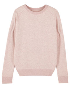 Sweat-shirt col rond iconique femme  | Stella Tripster Cream Heather Pink 4