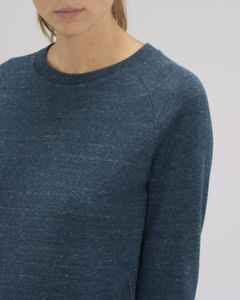Sweat-shirt col rond iconique femme  | Stella Tripster Dark Heather Denim 2