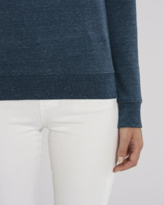 Sweat-shirt col rond iconique femme  | Stella Tripster Dark Heather Denim 3