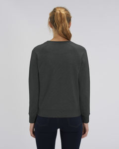 Sweat-shirt col rond iconique femme  | Stella Tripster Dark Heather Grey 1
