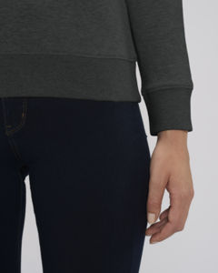 Sweat-shirt col rond iconique femme  | Stella Tripster Dark Heather Grey 3