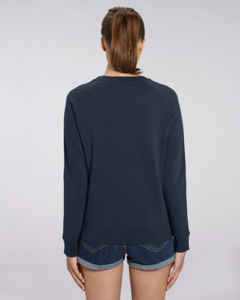 Sweat-shirt col rond iconique femme  | Stella Tripster French Navy 1