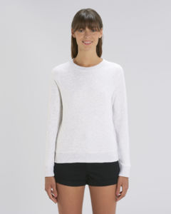 Sweat-shirt col rond iconique femme  | Stella Tripster Heather Ash