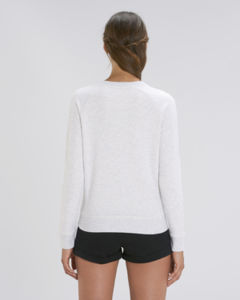 Sweat-shirt col rond iconique femme  | Stella Tripster Heather Ash 1