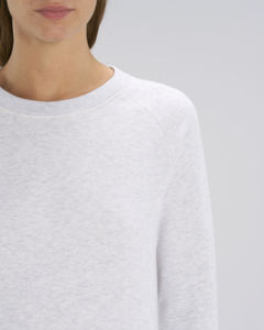 Sweat-shirt col rond iconique femme  | Stella Tripster Heather Ash 2