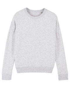 Sweat-shirt col rond iconique femme  | Stella Tripster Heather Ash 6