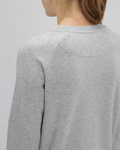 Sweat-shirt col rond iconique femme  | Stella Tripster Heather Grey 4