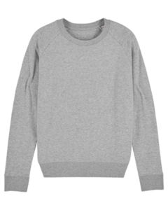 Sweat-shirt col rond iconique femme  | Stella Tripster Heather Grey 6