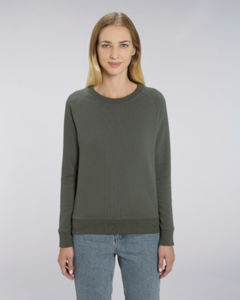 Sweat-shirt col rond iconique femme  | Stella Tripster Khaki
