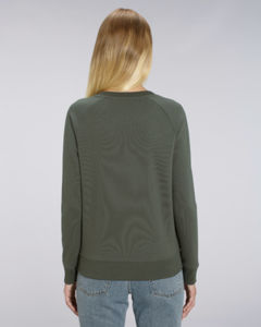 Sweat-shirt col rond iconique femme  | Stella Tripster Khaki 1