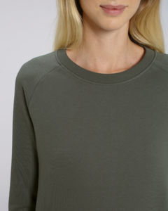 Sweat-shirt col rond iconique femme  | Stella Tripster Khaki 2