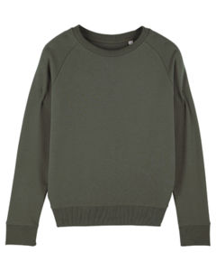 Sweat-shirt col rond iconique femme  | Stella Tripster Khaki 4