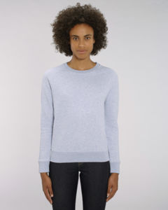 Sweat-shirt col rond iconique femme  | Stella Tripster Light Heather Lilac
