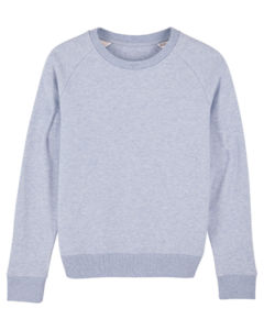 Sweat-shirt col rond iconique femme  | Stella Tripster Light Heather Lilac 5