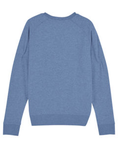 Sweat-shirt col rond iconique femme  | Stella Tripster Mid Heather Blue 5
