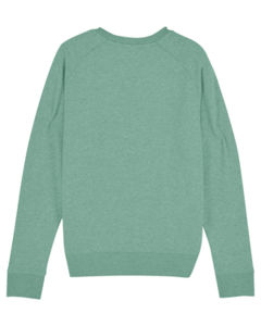 Sweat-shirt col rond iconique femme  | Stella Tripster Mid Heather Green 5